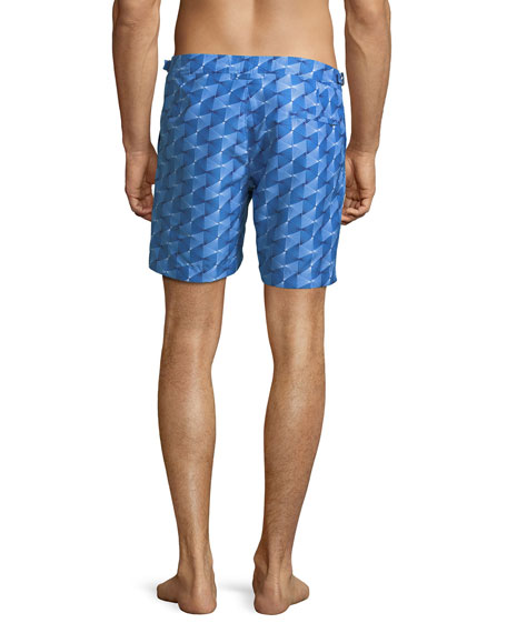 Bulldog Astera Printed Swim Trunks