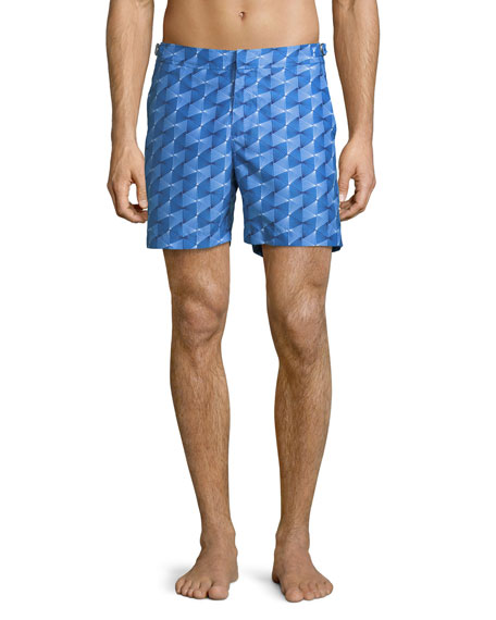 Orlebar Brown Bulldog Astera Printed Swim Trunks