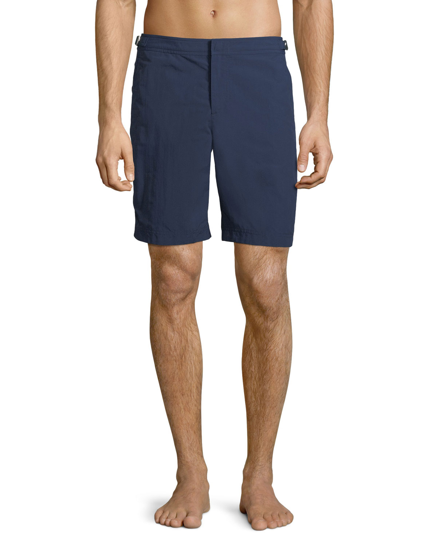 Navy Size 32in Dane II Genuine Orlebar Brown Mens Long Length Swim Shorts