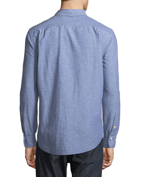 Men's Fit 3 Beach Chambray Shirt