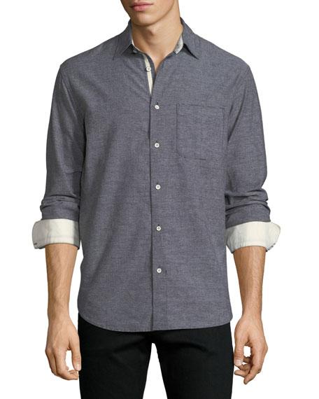 Rag & Bone Beach Contrast-Face Shirt and Matching