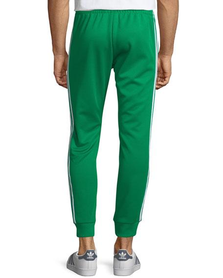 Contrast-Trim Knit Track Pants
