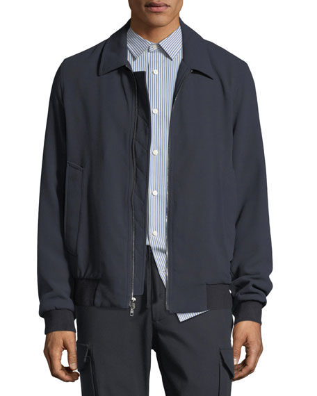 Vince Cotton Bomber Jacket