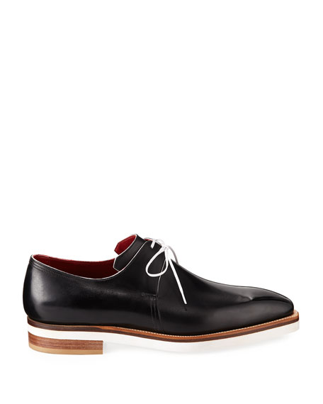 Arca Contrast-Sole Derby Shoe