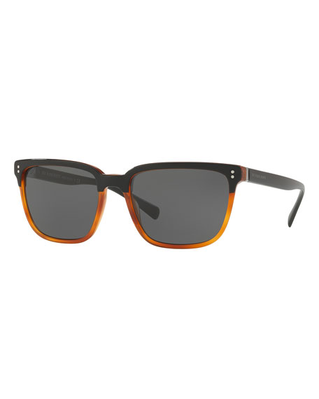 Burberry Two-Tone Acetate Sunglasses