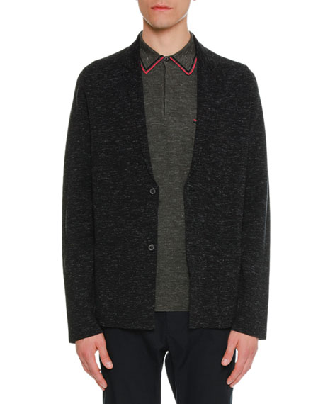Milano Stitch Wool/Silk Jacket
