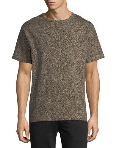 Palm Jacquard T-Shirt