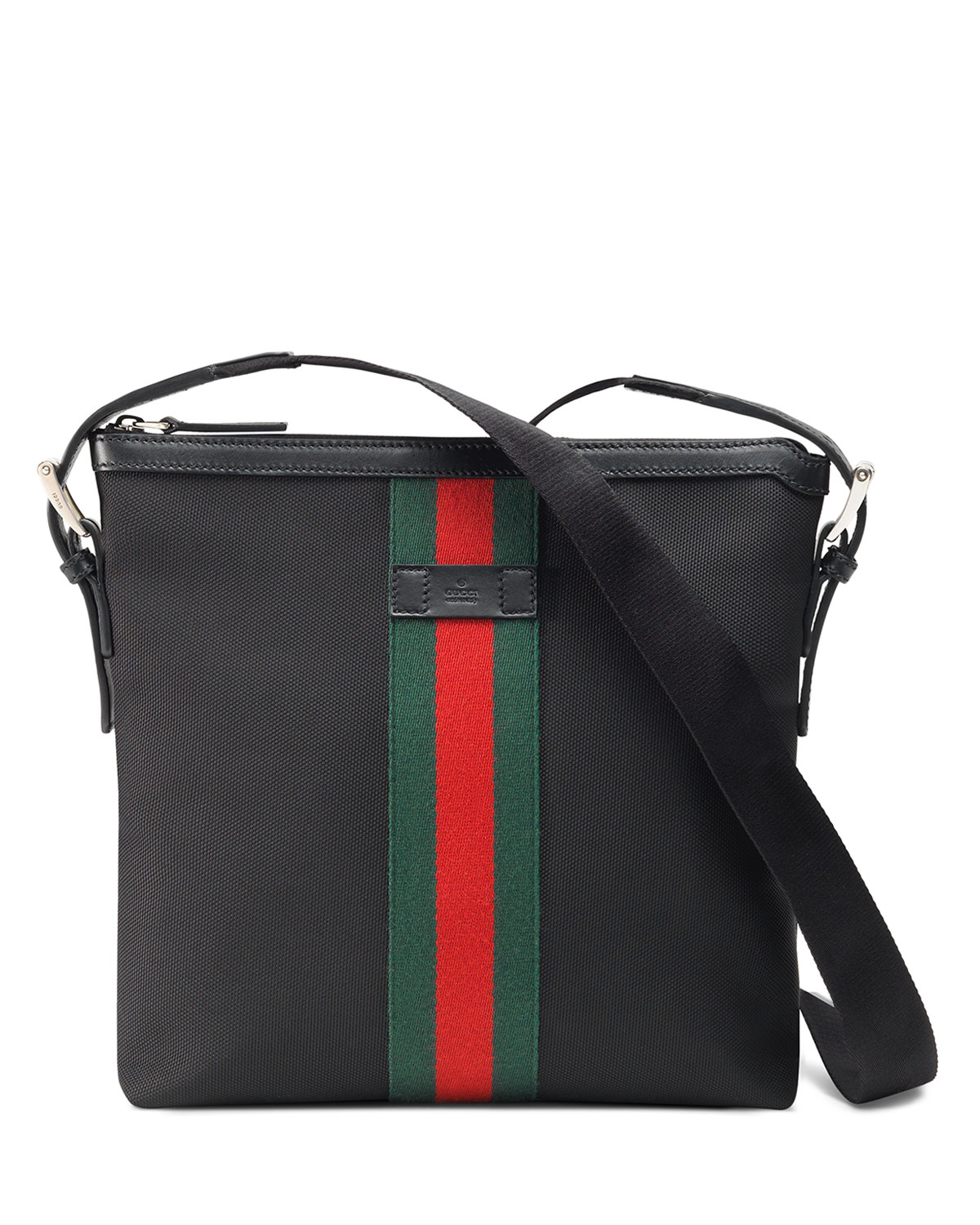 52aad5014b83 Gucci Men's Web GG Supreme Messenger Bag | Neiman Marcus