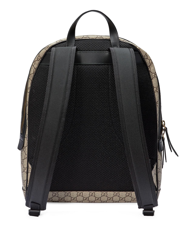 82a85218f Gucci XXV Wolf-Print GG Supreme Backpack   Neiman Marcus