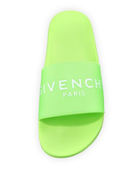 Men's Logo Pool Slide Sandal