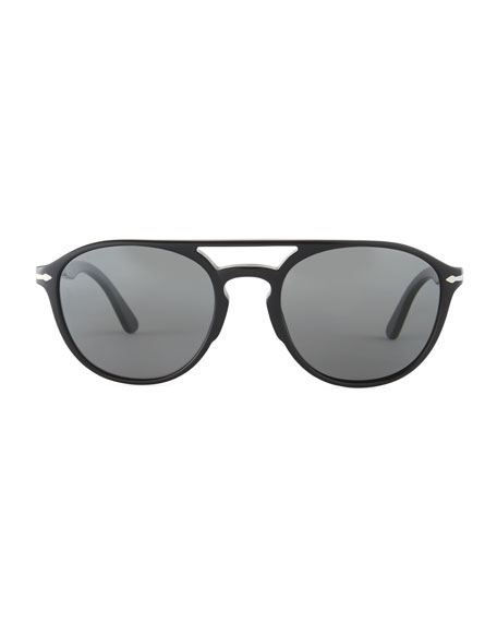 PO3170S Acetate Pilot Sunglasses