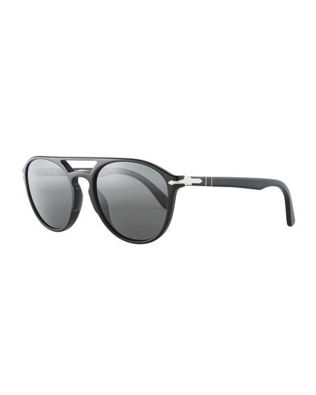 Persol PO3170S Acetate Pilot Sunglasses