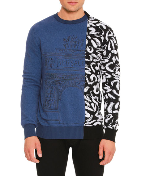 Teatro Versace Printed Sweater