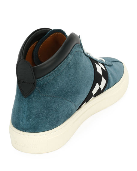Men's Vita Retro High-Top Sneakers
