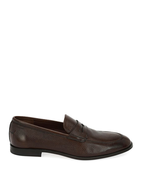 Webb Leather Penny Loafer