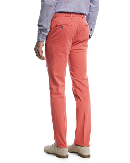 Washed Cotton Trousers