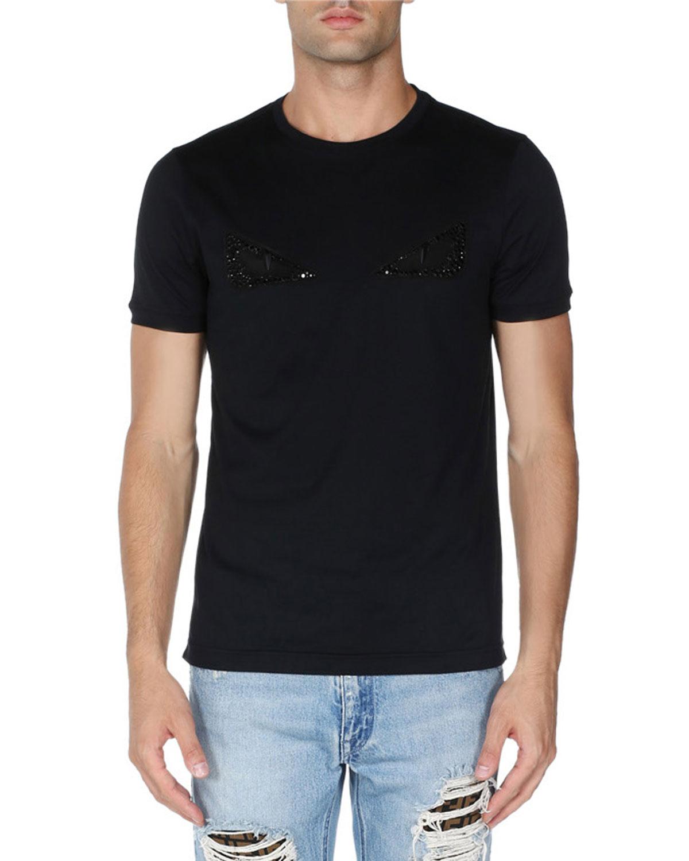 3164622e0602 Fendi Monster Eyes T-Shirt   Neiman Marcus