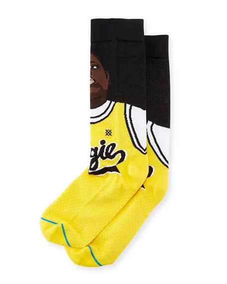 Juicy Biggie-Print Socks