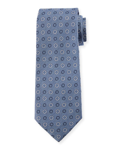 Circles Silk Tie
