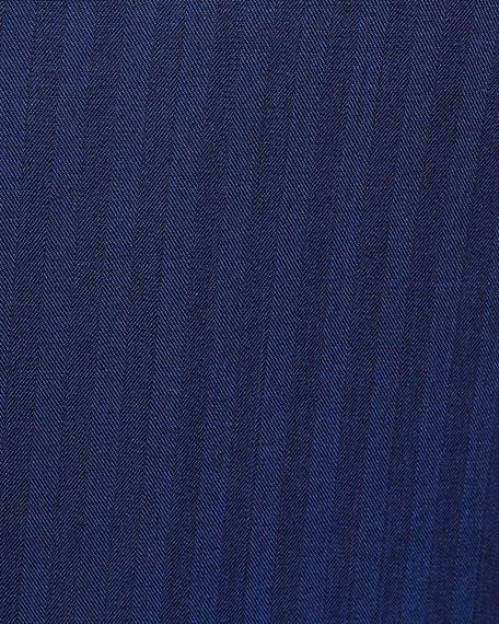 Ermenegildo Zegna Herringbone Two-Piece Wool Suit