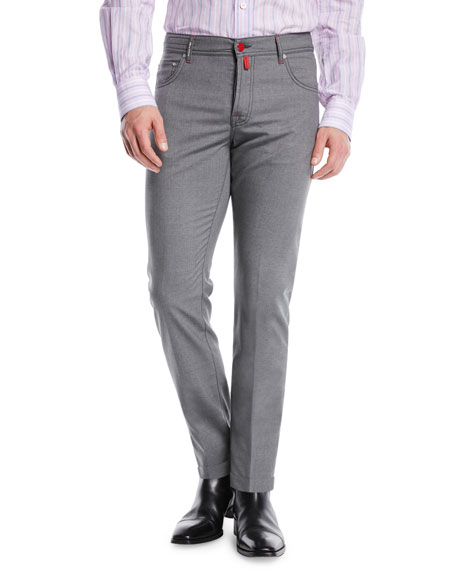 Five-Pocket Wool Pants