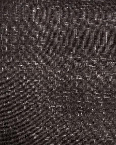 Ermenegildo Zegna Plaid Cashmere-Blend Two-Button Blazer