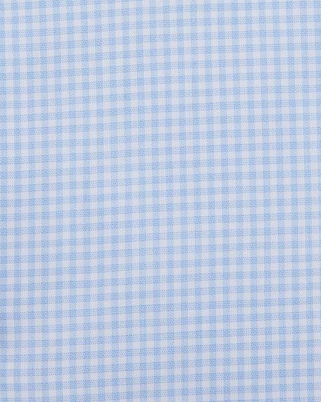 Ermenegildo Zegna Trofeo® Gingham Comfort Dress Shirt