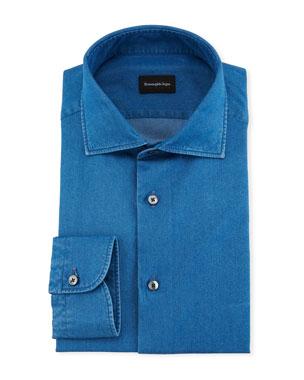 2ccd7e51 Ermenegildo Zegna Dress Shirts at Neiman Marcus