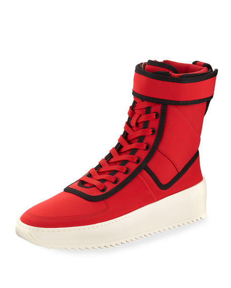 Fear of God Men's Military Calf Leather Platform