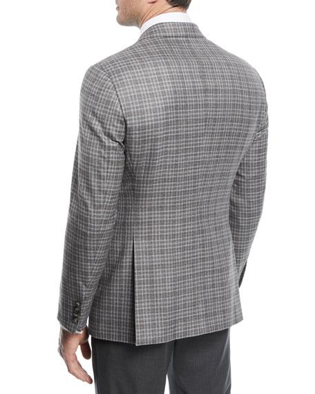 Emporio Armani Plaid Wool Sport Coat
