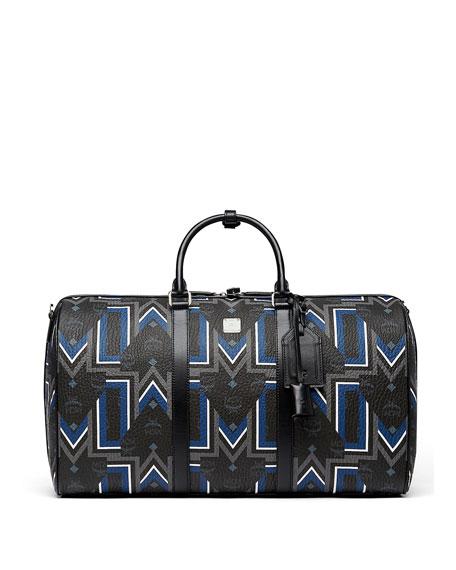 MCM Logo-Print Weekender Bag Jm1jwfCl