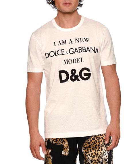 Dolce & Gabbana D&G Model Jersey T-Shirt