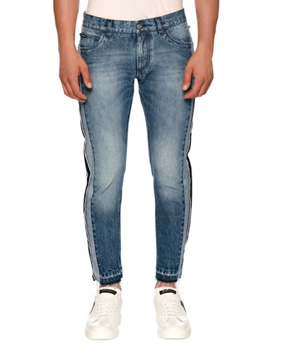 Selvage Tux-Style Jeans