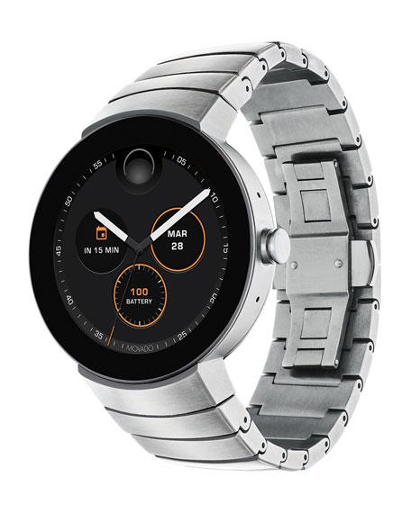 Movado 46.5mm Men's Connect Smartwatch w/ Bracelet Strap