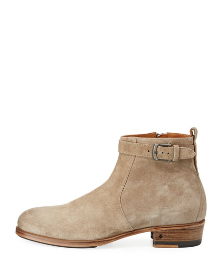Lafayette Suede Buckle Boot