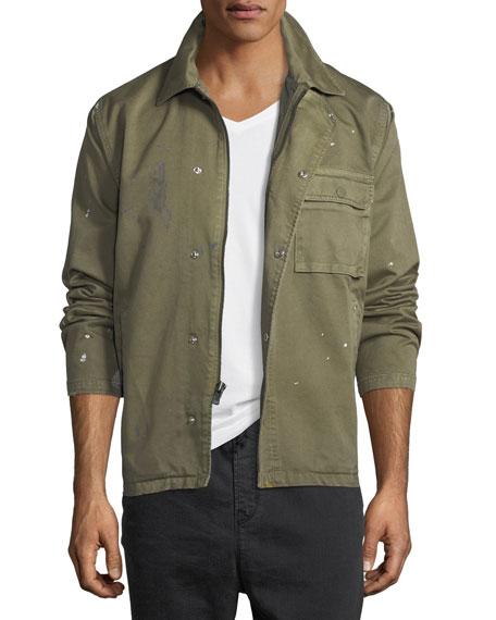 Hudson Twill Military Jacket