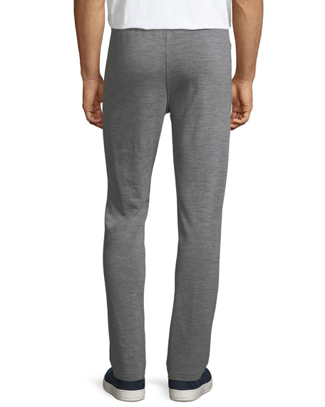 Heathered Wool Jogger Pants