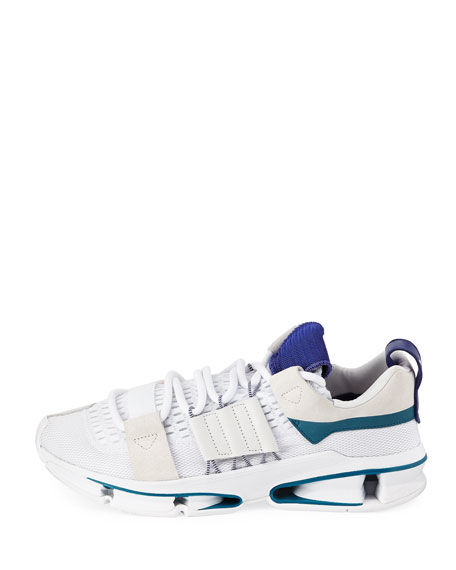 Men's Twinstrike ADV Colorblock Running Sneakers, White