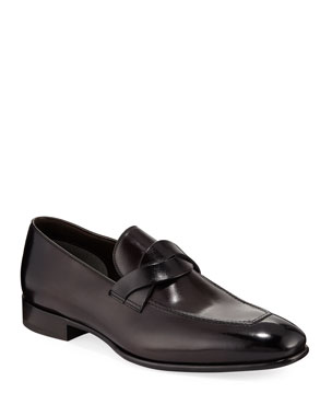 b668edfeb0a1 Men s Runner Athletic Shoes.  990 · TOM FORD Twist-Front Leather Loafer