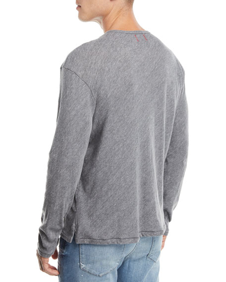 Men's Wintz Long-Sleeve Henley T-Shirt