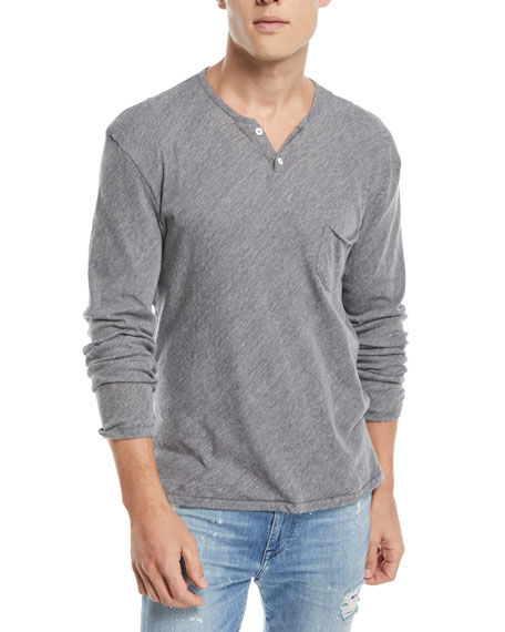 Joe's Jeans Men's Wintz Long-Sleeve Henley T-Shirt
