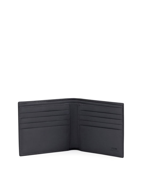 Vocabulary Leather Bi-Fold Wallet