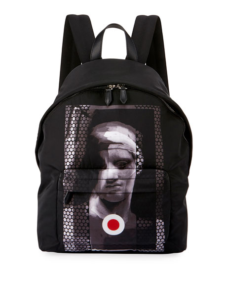 Givenchy Romantic Statue Neoprene Backpack