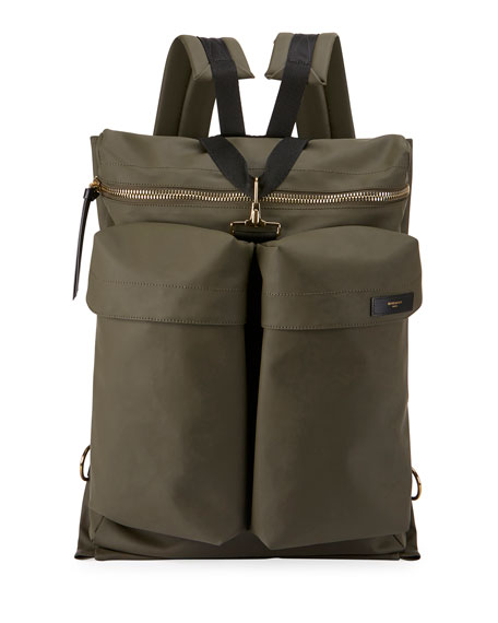Givenchy Solid Rubber Backpack