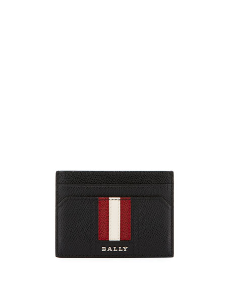 Bally Thar Leather Card Case