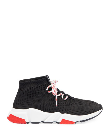 Men's Speed Lace-Up Mesh Sneakers