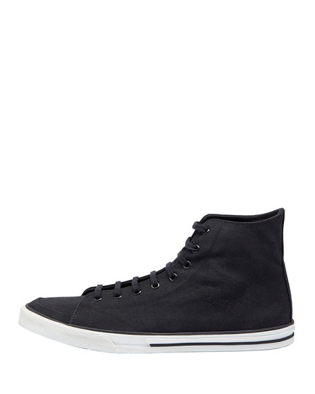 Men's Match Runway High-Top Sneakers