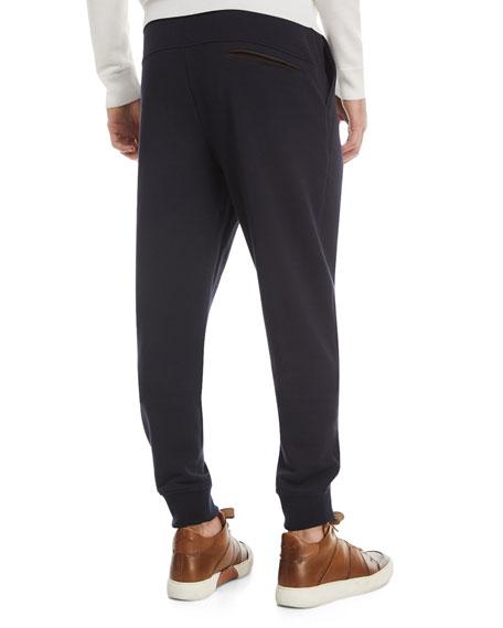 Ermenegildo Zegna Cotton-Blend Jogger Pants