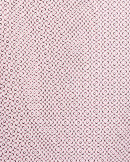 Ermenegildo Zegna Micro-Print Woven Sport Shirt
