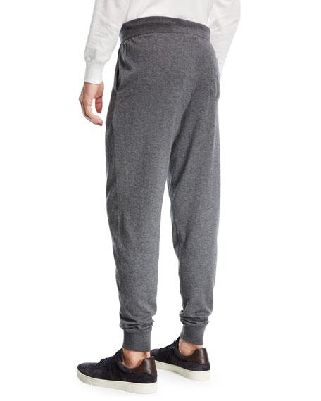 Wool-Blend Jogger Pants